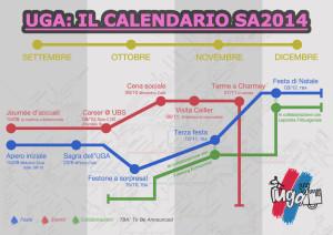 Calendario UGA: SA2014